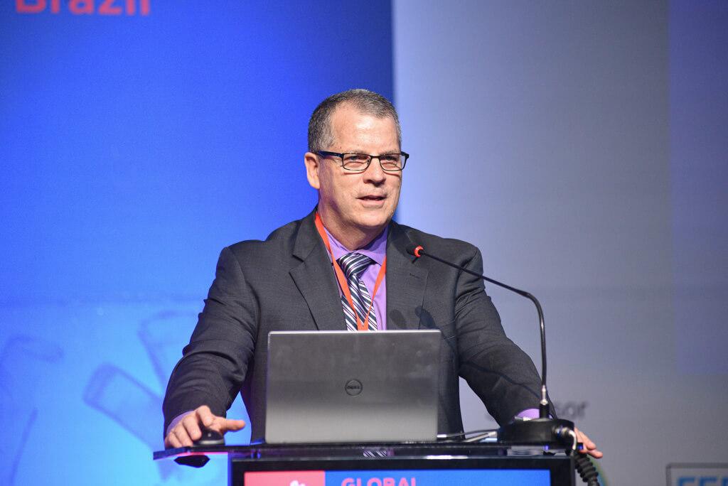 ICOS President Dr. Daniel Lenihan
